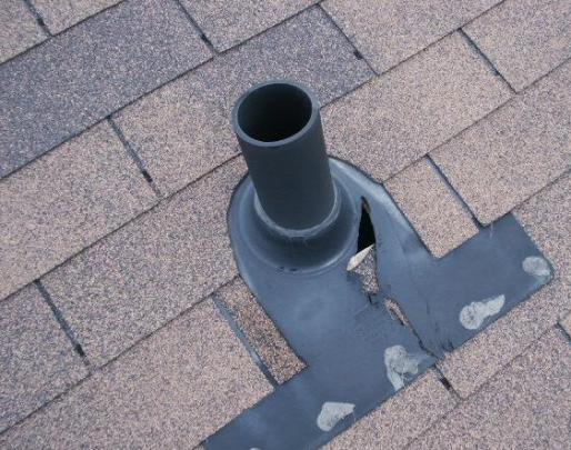 plumbing flashing on roof